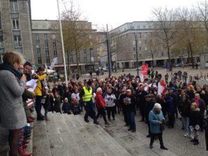 200 personnes à Brest contre les Violences sexistes et sexuelles