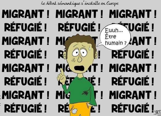Soutient à la manifestation pour une politique humaniste vis à vis des migrant.e.s .