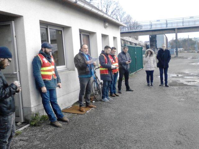 Intervention du PCF à l'AG des cheminots du 9 décembre.
