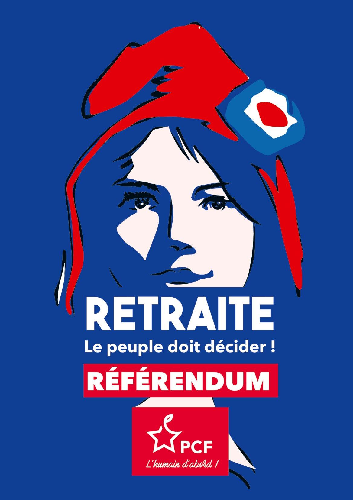Retrait du projet de réforme des retraites, et sinon un référendum !
