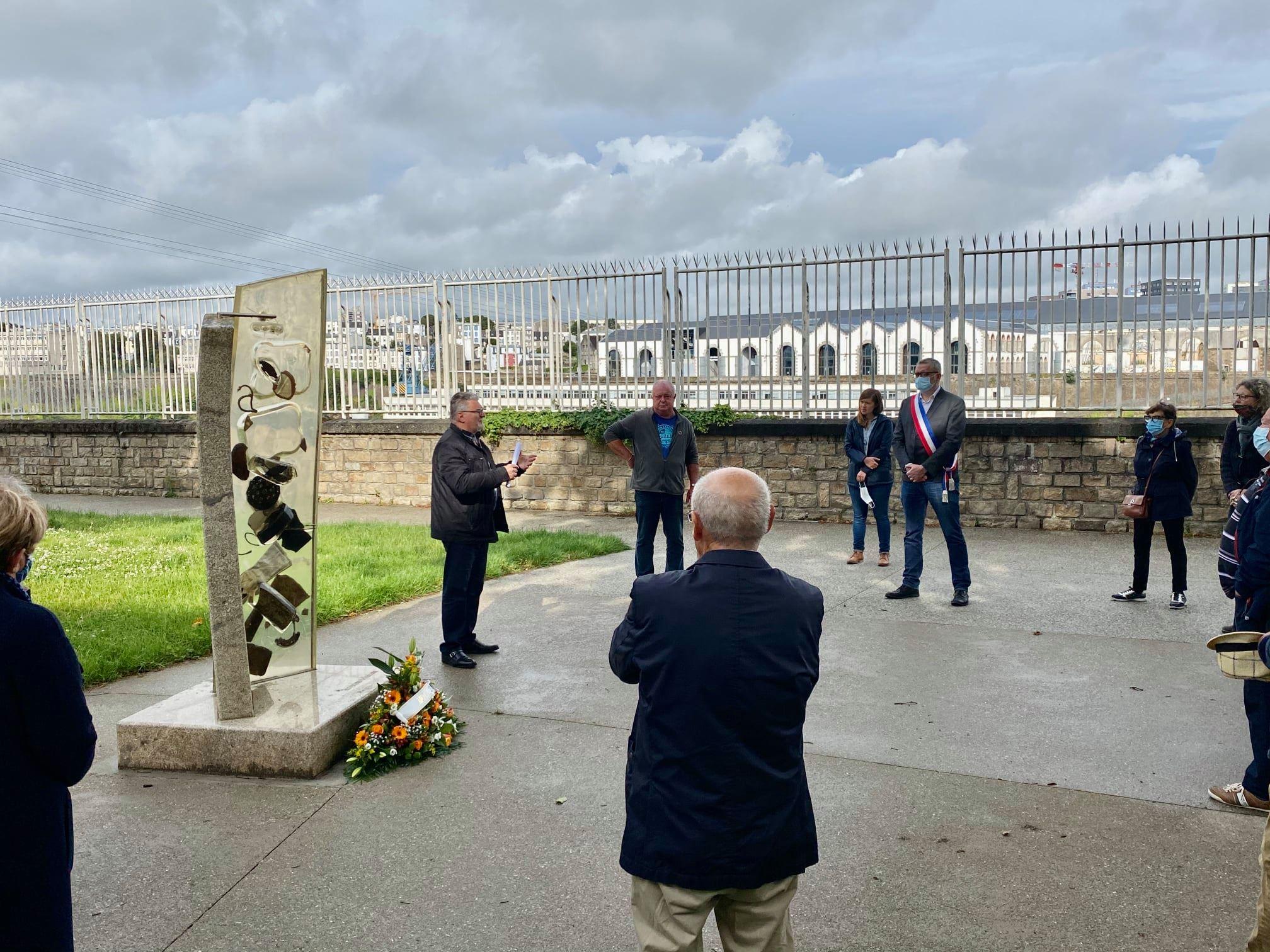Samedi 20 juin 2020 – Cérémonie commémorative en hommage aux victimes de l'amiante.