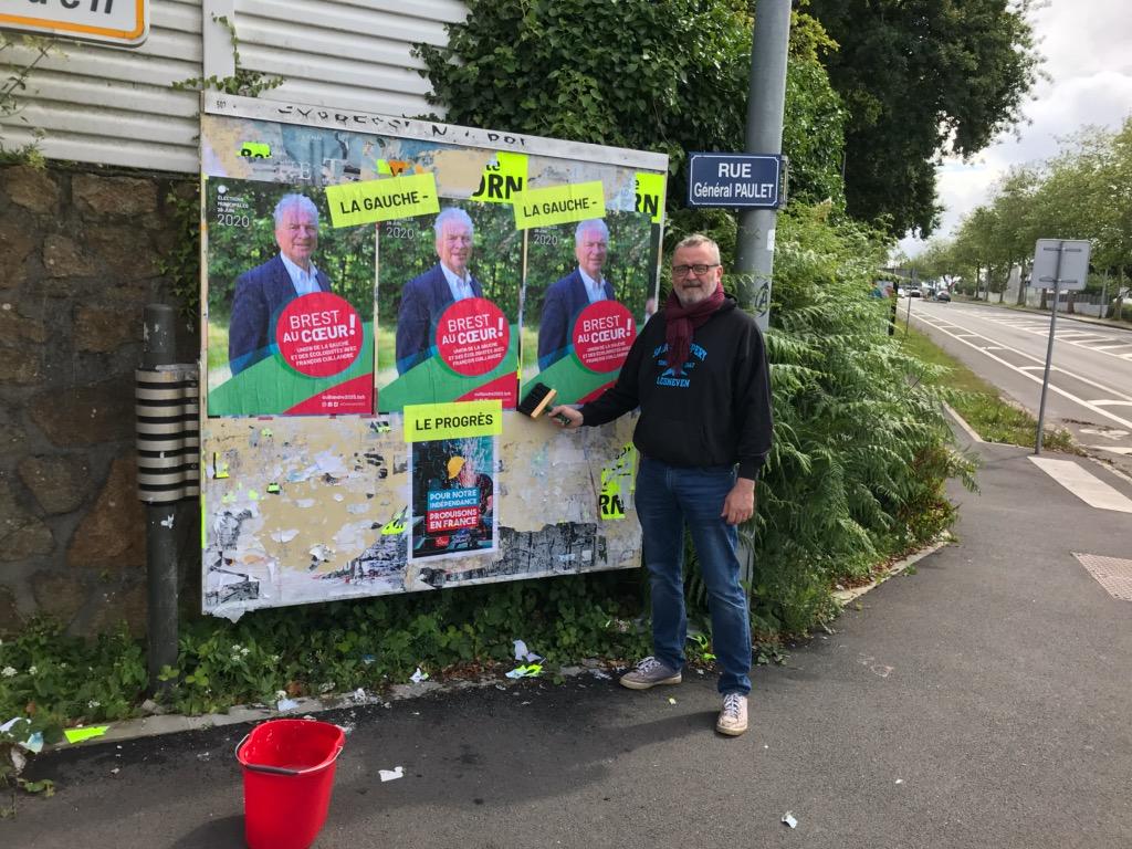 On colle et le 28 on vote Brest Au Coeur !