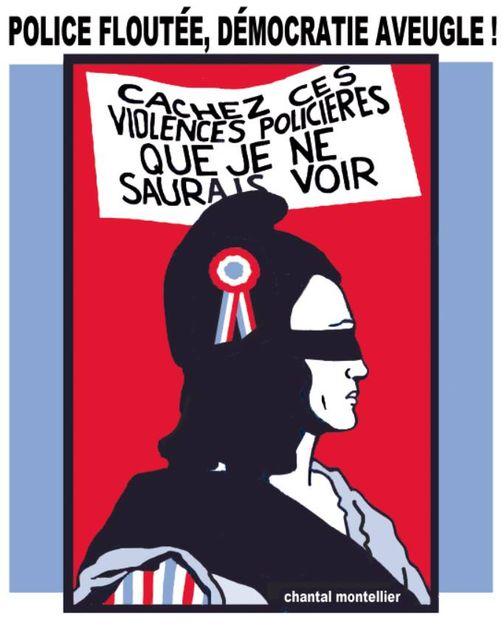 Samedi 28 novembre, rassemblement :  Non au projet de loi liberticide du gouvernement et des députés LREM !