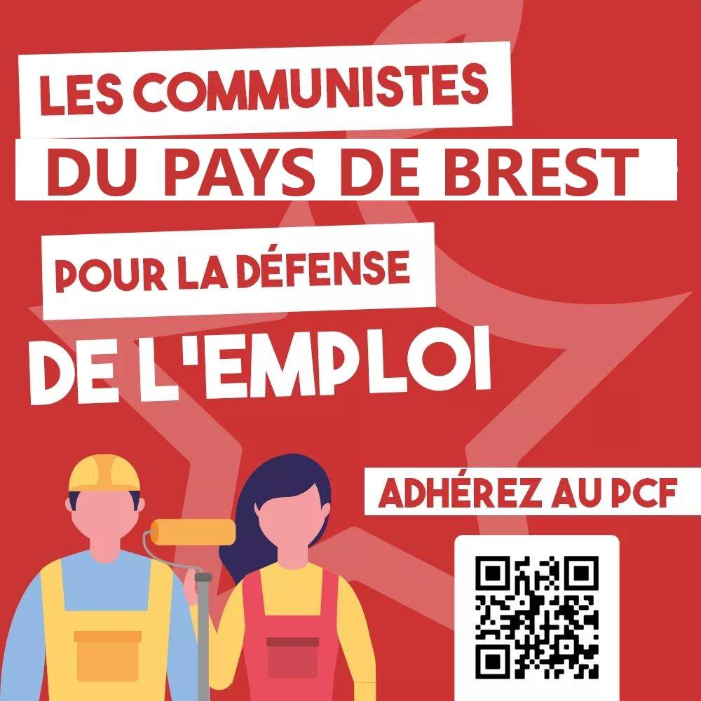 Le 5 décembre pour le droit au travail, à la protection sociale, contre le chômage et la précarité manifestation à 11 h place de la Liberté à Brest.