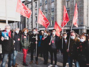 Acte IV de la mobilisation brestoise contre la Loi Sécurité Globale